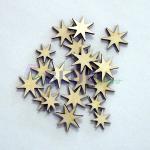 dřevěné hvězdičky