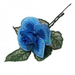 vyšívaná růže small